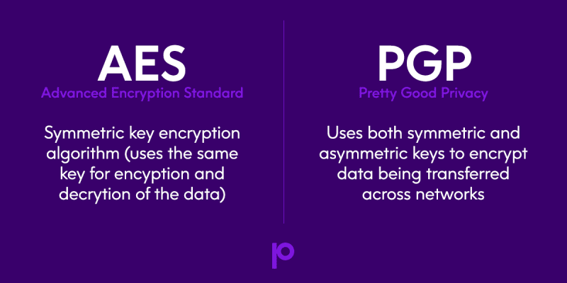AES vs PGP encryption