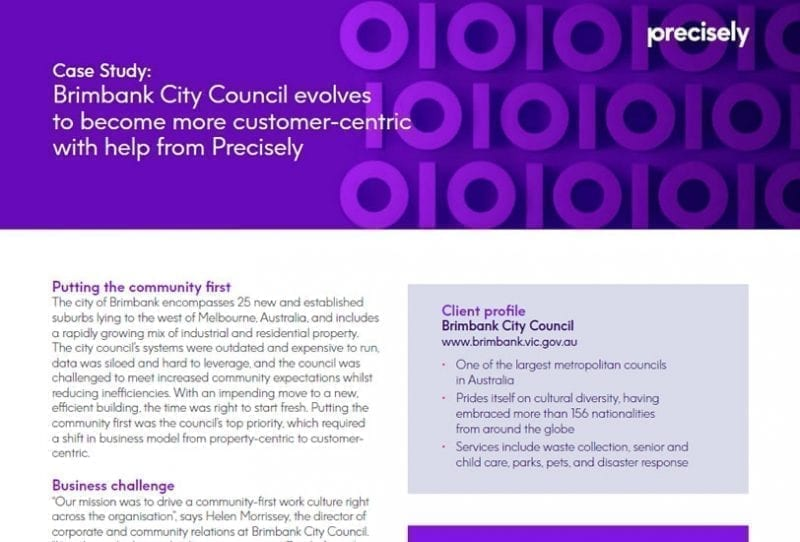 Brimbank City Council evolves to become more customer-centric