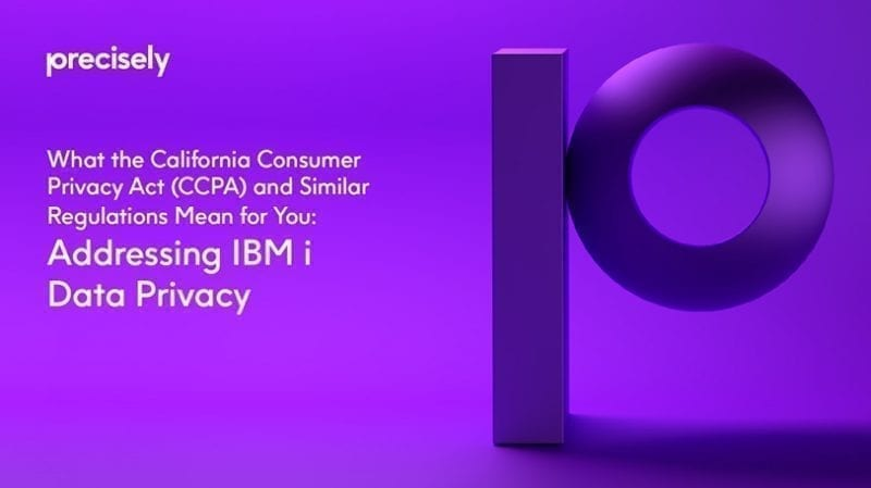 eBook: What the California Consumer Privacy Act (CCPA) Means for You