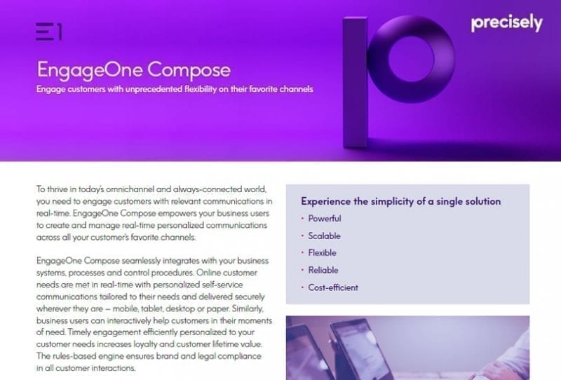 EngageOne Compose Brochure