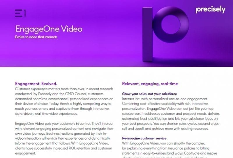 EngageOne Video