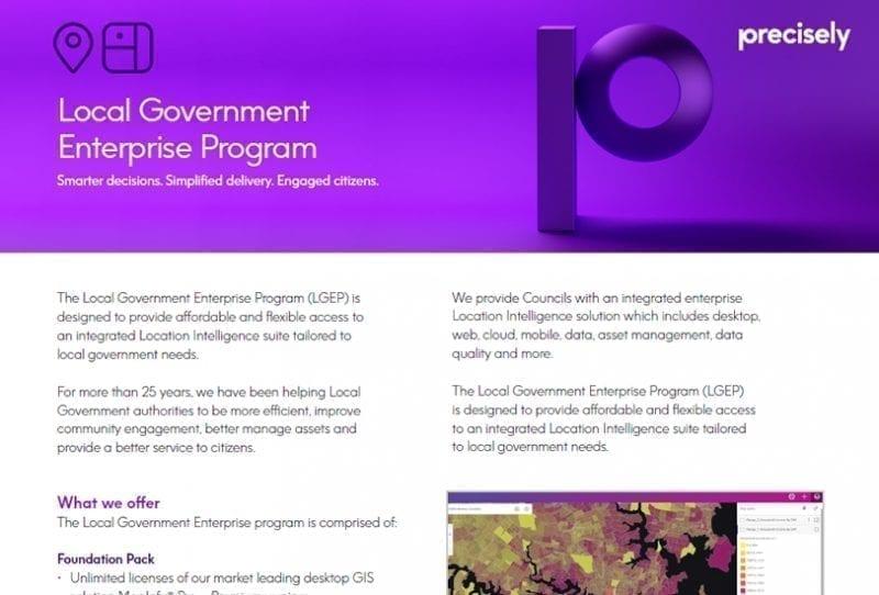 The Local Government Enterprise Program