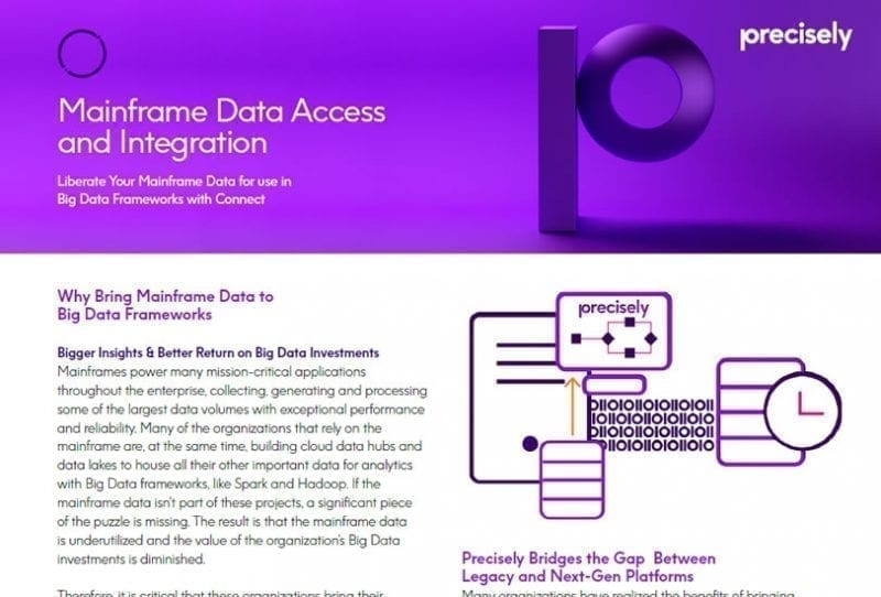 Mainframe Access and Integration