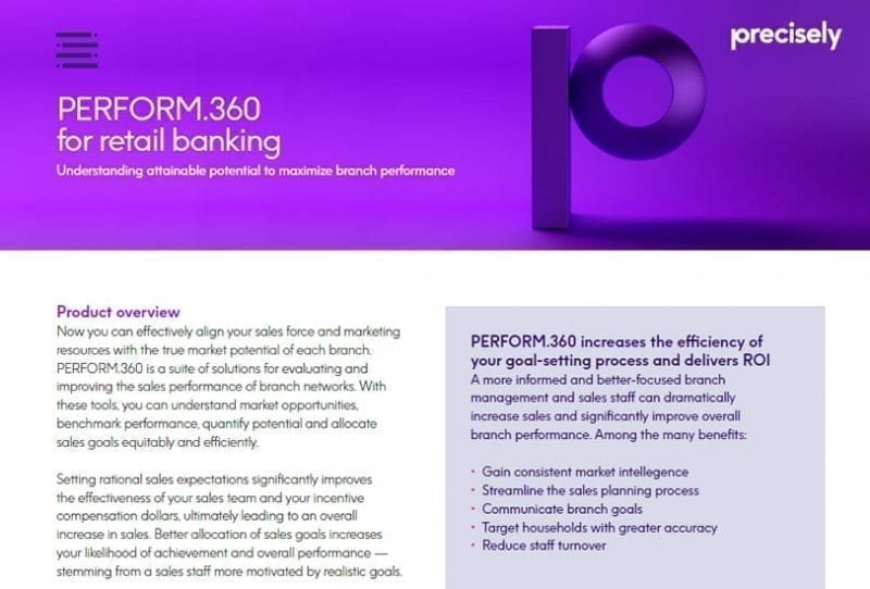 Perform360 for Retail Banking