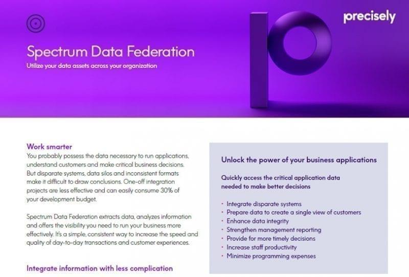 Spectrum Data Federation