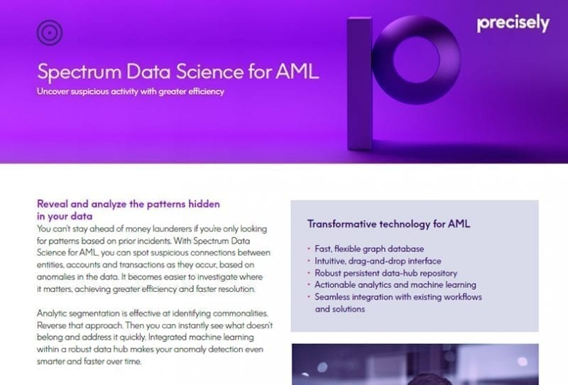 Spectrum Data Science for AML
