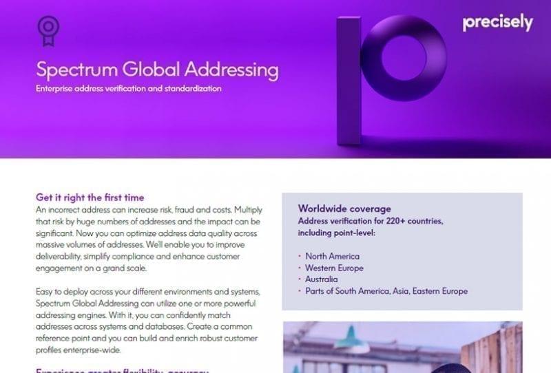 Spectrum Global Addressing