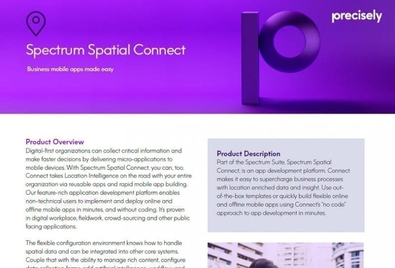 Spectrum Spatial Connect