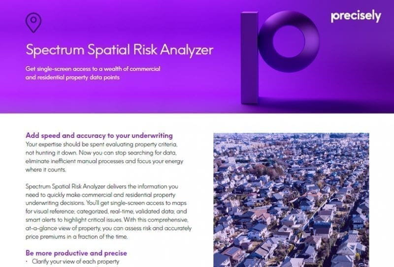Spectrum Spatial Risk Analyzer