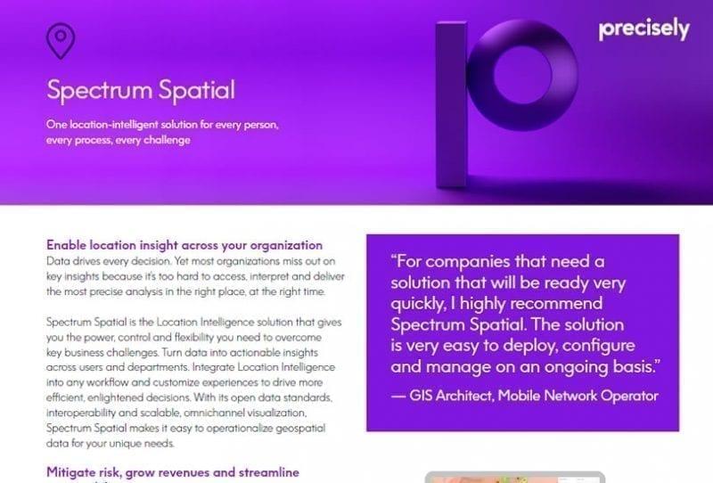 Spectrum Spatial