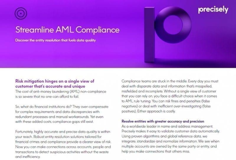 Streamline AML Compliance
