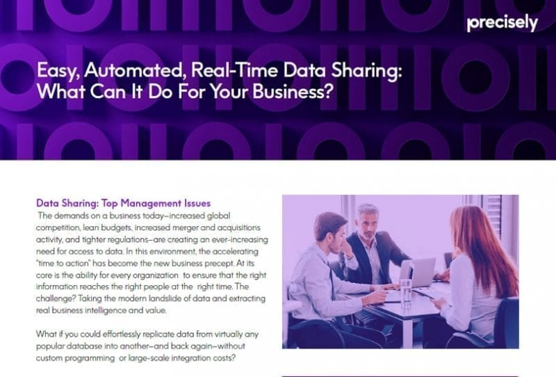 real-time automated data sharing