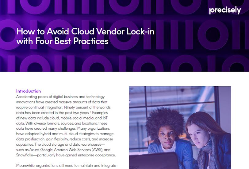 How to avoid cloud vendor lock
