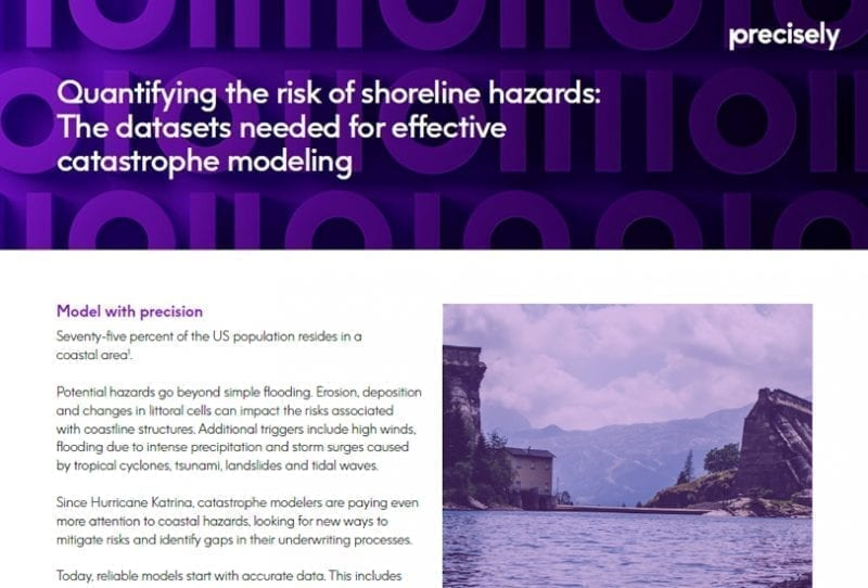 effective catastrophe modeling