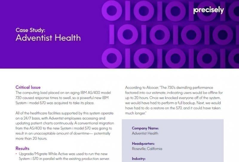 Adventist Health Customer Story