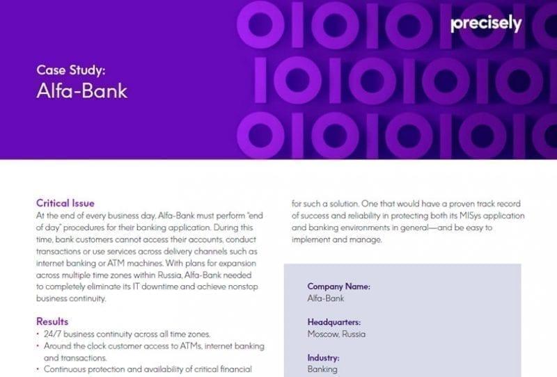 Alfa-Bank Customer Story