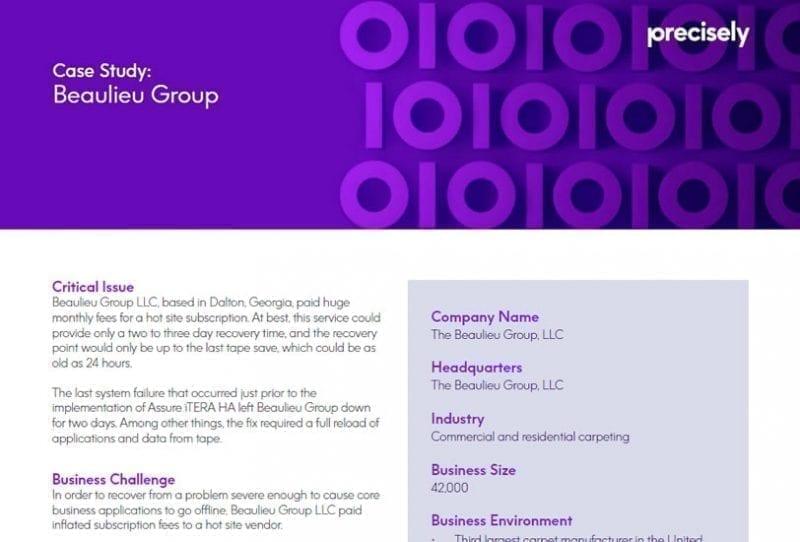 Beaulieu Group Customer Story