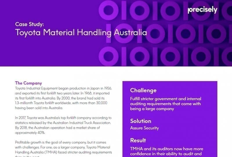Toyota Material Handling Australia