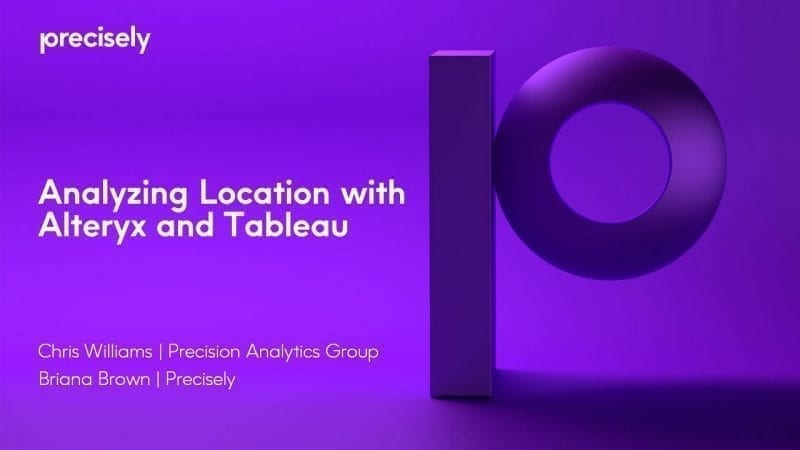 Analyzing Location with Alteryx and Tableau