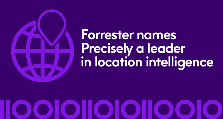 Precisely named a leader in The Forrester Wave™: Location Intelligence Platforms, Q2 2020 (evaluated on offerings, strategy, market presence)
