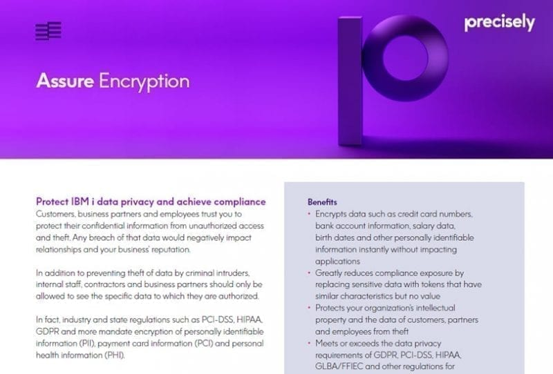 Assure Encryption