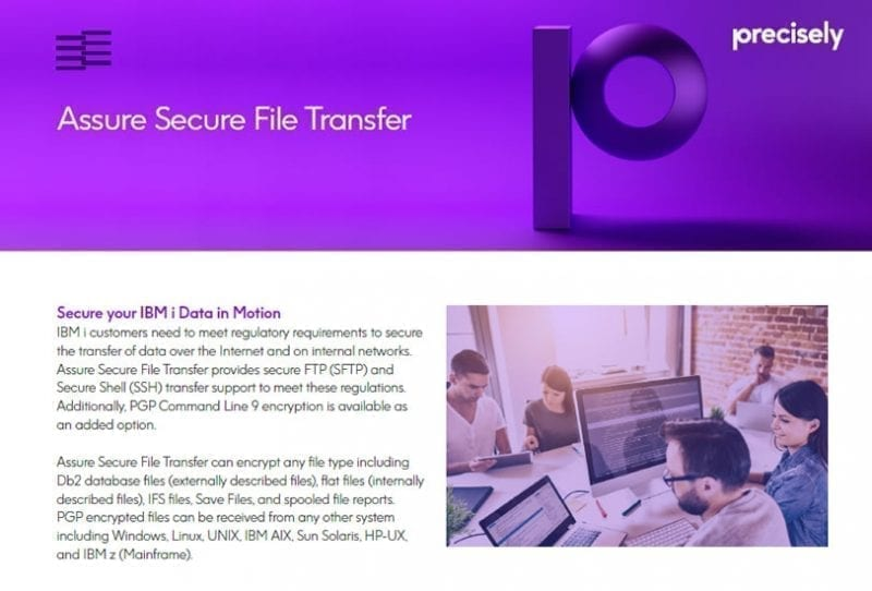 Assure Secure File Transfer Solution Sheet