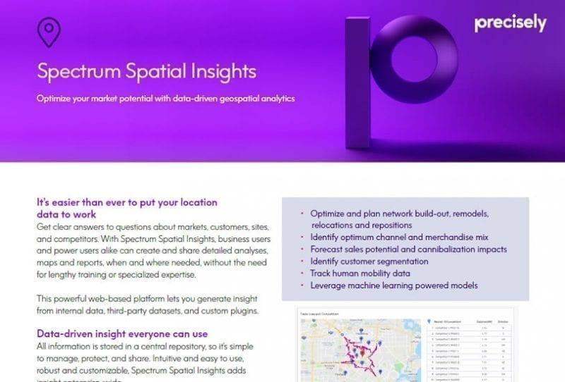 Spectrum Spatial Insights