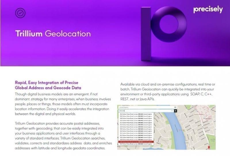 Trillium Geolocation
