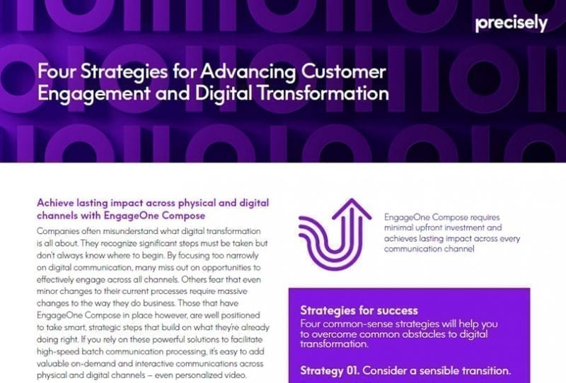 Explore digital transformation strategies to achieve lasting impact across physical and digital channels transformy your customer engagement