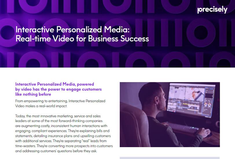 interactive personalized media