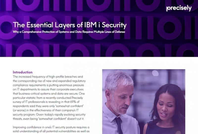 The Essential Layers of IBM i Security