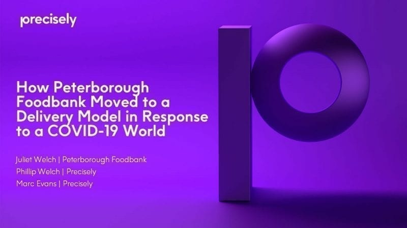 How Peterborough Foodbank Moved to a Delivery Model in Response to a COVID-19 World