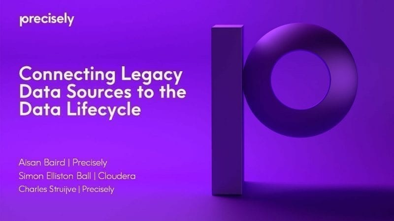 Connecting Legacy Data Sources to the Data Lifecycle