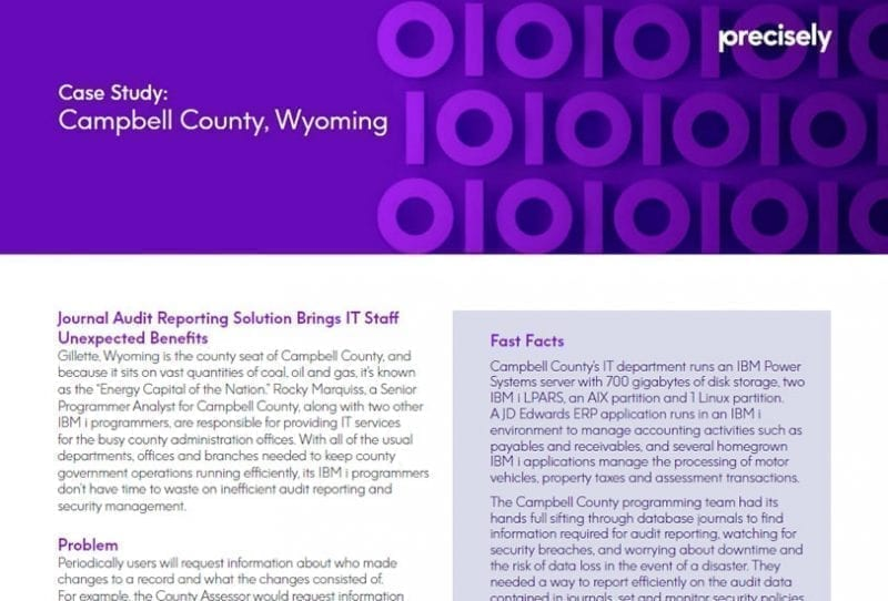 Campbell County, Wyoming Case Study