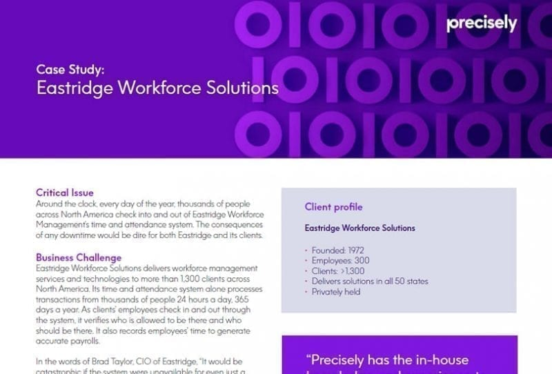 Eastridge Workforce Solutions Managed Services Case Study