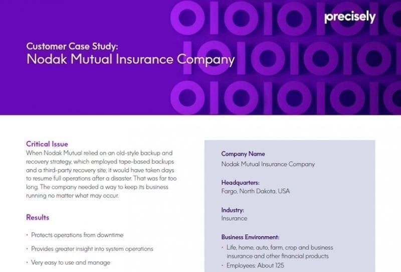 Nodak Mutual Insurance Company - Assure iTERA HA Customer Story