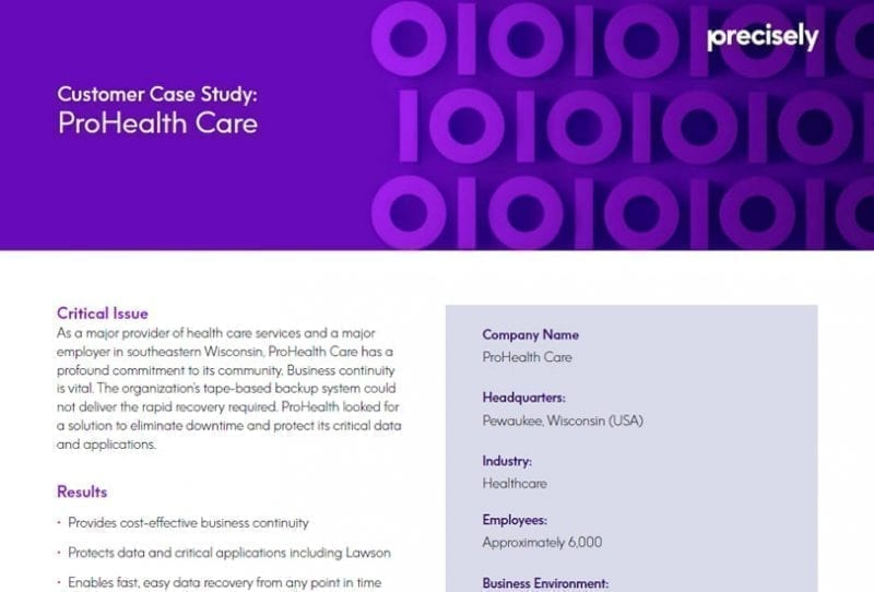 ProHealth Care Case Study