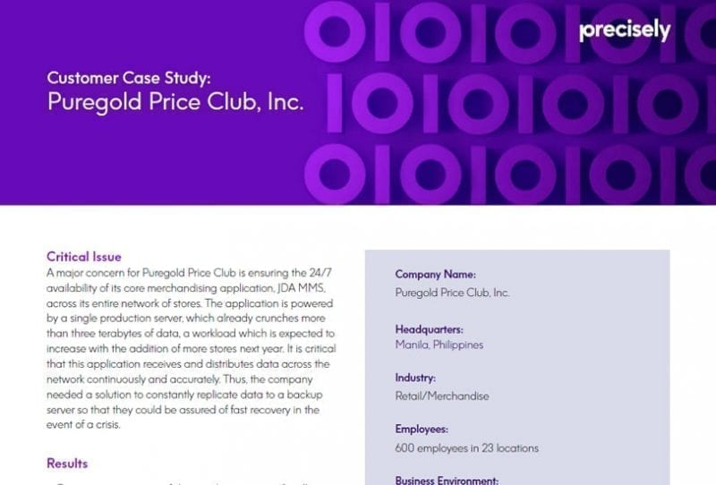 Puregold Price Club Case Study