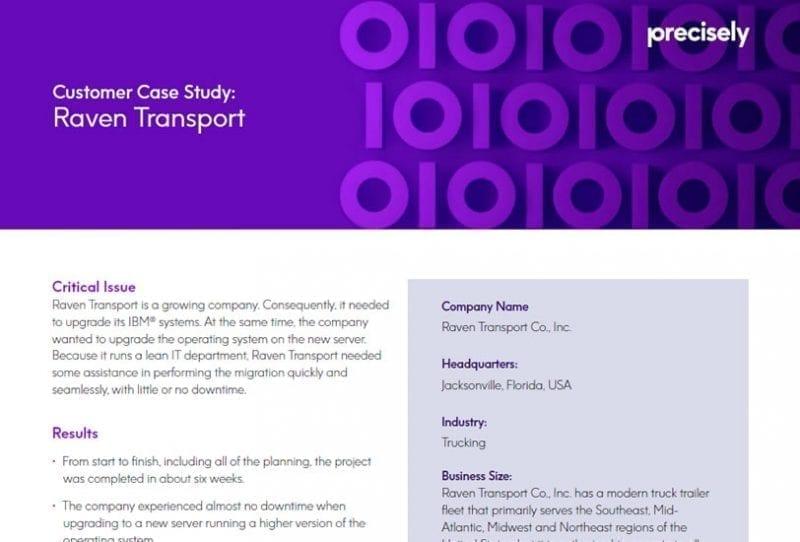Raven Transport Case Study