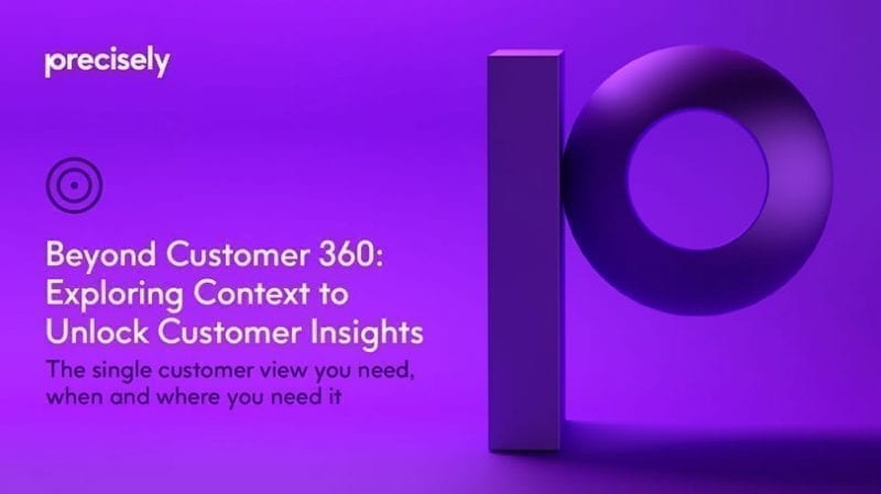 eBook: Beyond Customer 360 - Exploring context to unlock customer insights