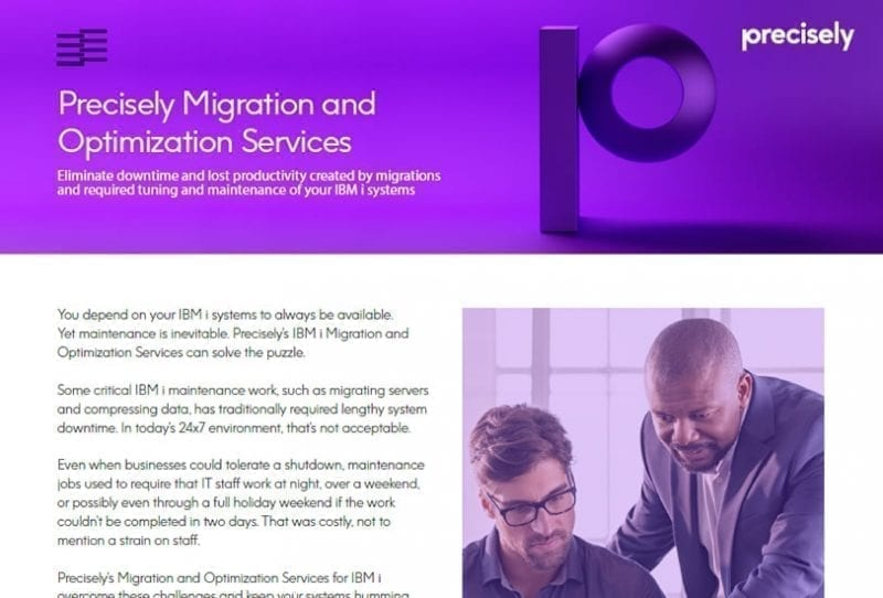 Precisely Migration and Optimization Services