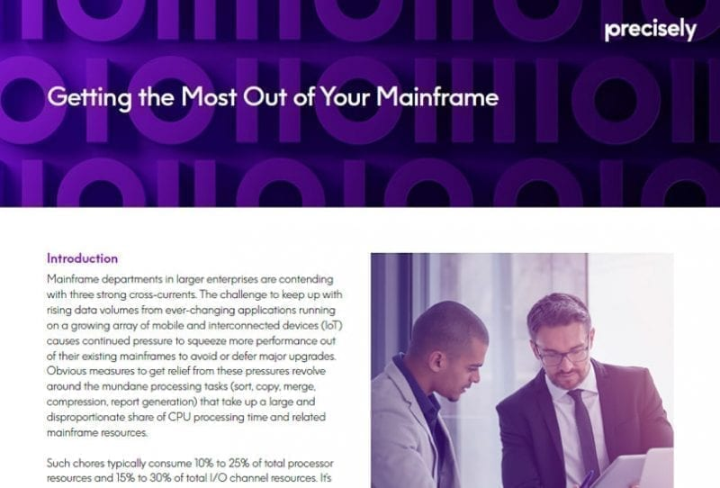 Getting the Most Out of Your Mainframe