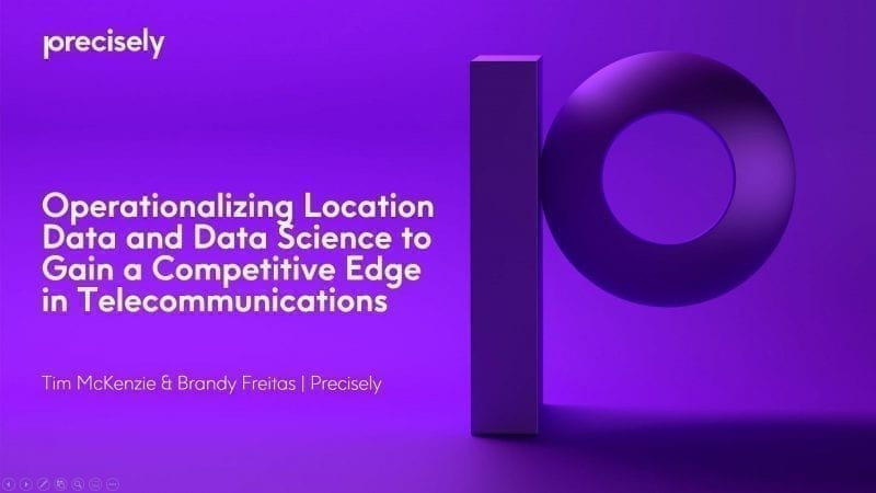 Operationalizing Location Data and Data Science to Gain a Competitive Edge in Telecommunications