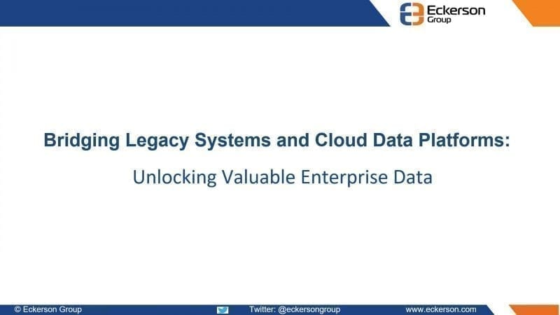 Unlocking valuable enterprise data