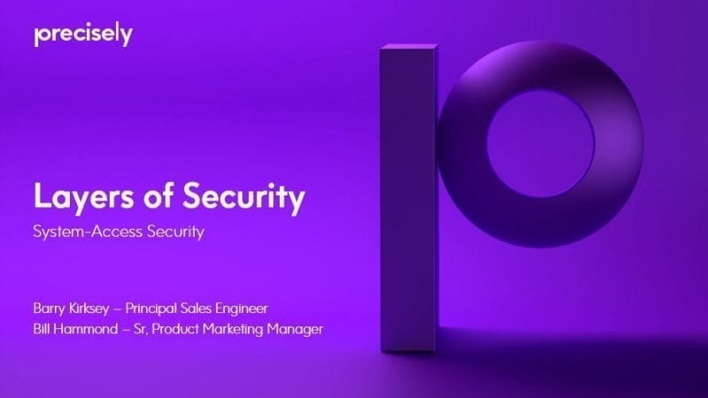 Essential Layers of IBM i Security - System Access Security