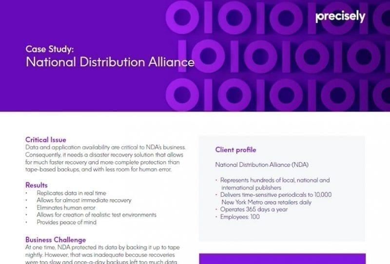 National Distribution Alliance (NDA) - Assure MIMIX