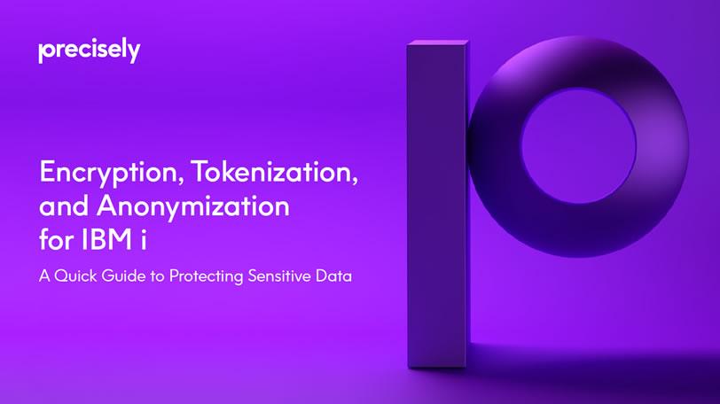 Encryption Tokenization Anonymization for IBM i