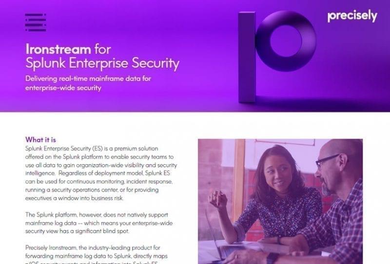 Ironstream + Splunk Enterprise Security