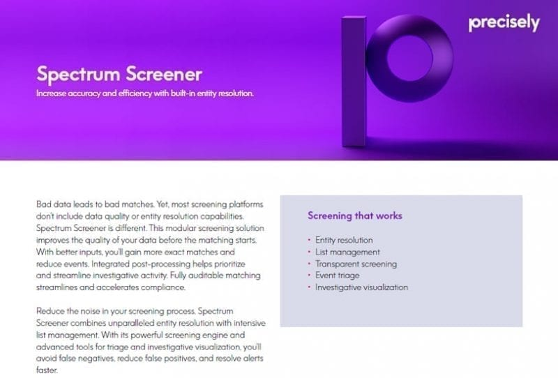 Spectrum Screener