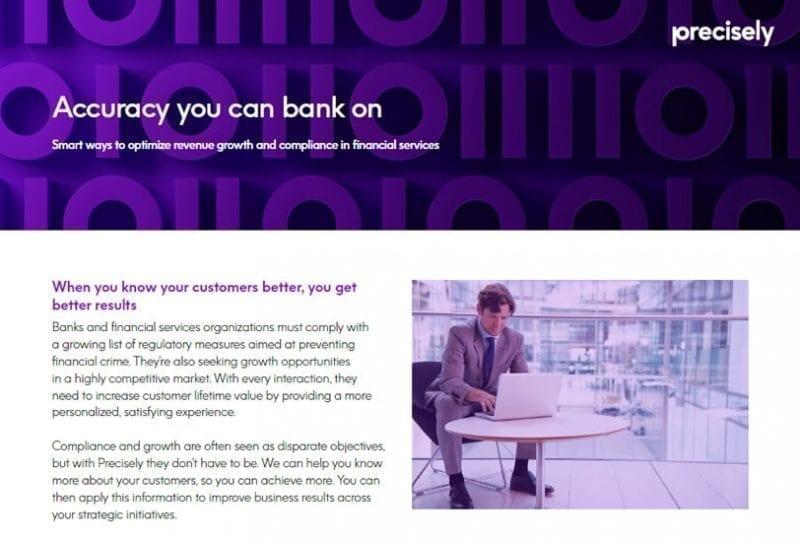 Regulatory Compliance Accuracy You Can Bank On